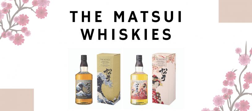 Découvrez les Matsui Whiskies !